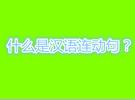 汉语中的连动句