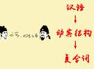 汉语动宾结构复合词
