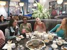 吃火锅,学汉语?